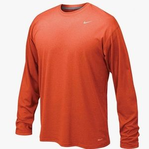 Nike Dri Fit Long Sleeve Tee Shirt Like New L